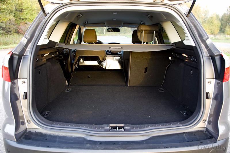 форд фокус универсал фото багажника